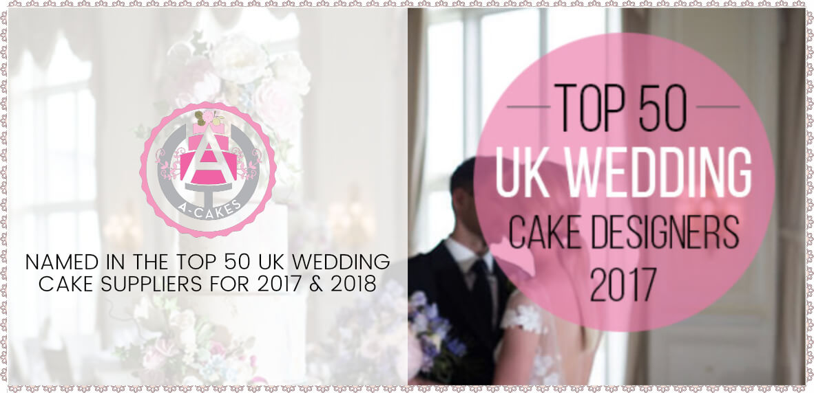 Top 50 UK Wedding Cake Designer